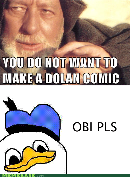 dolan obi wan Rage Comics star wars - 6137105920
