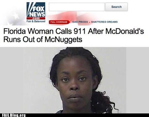 911 fail nation fox news g rated McDonald's mcnuggets