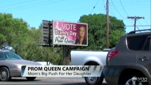 Badvertising,billboard,prom queen