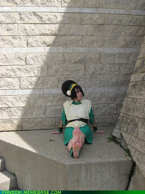 Avatar cartoons cosplay toph beifong - 6137190144
