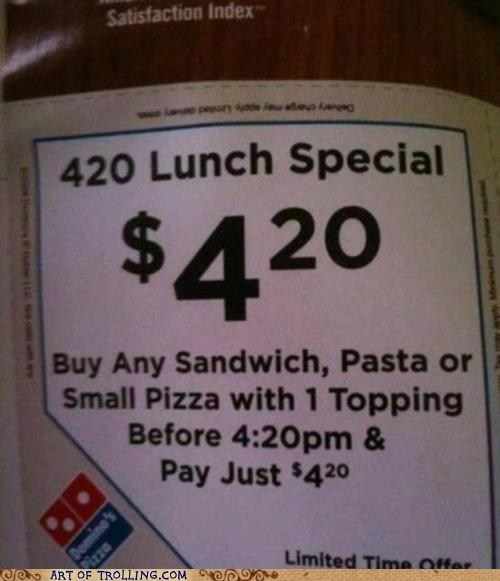 420 IRL munchies pizza - 6137322496
