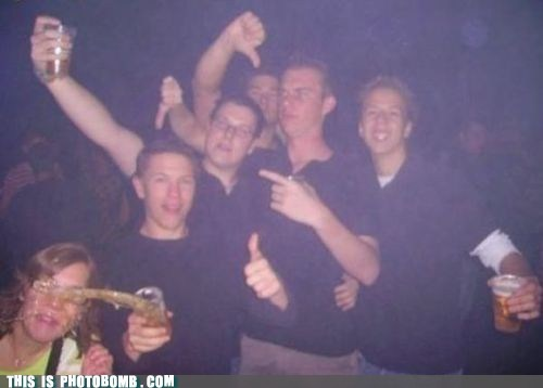 alcohol,booze,FAIL,Perfect Timing,photobomb