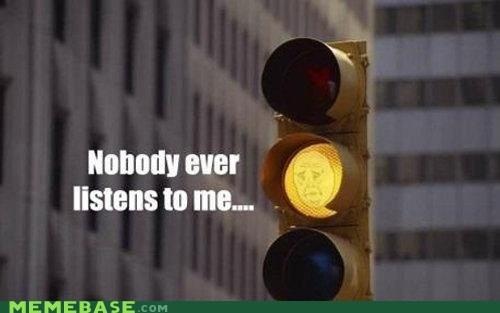 ignore light Okay stop light traffic - 6137371904