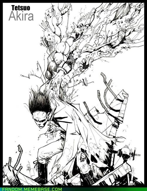 Akira anime Fan Art tetsuo - 6137874944