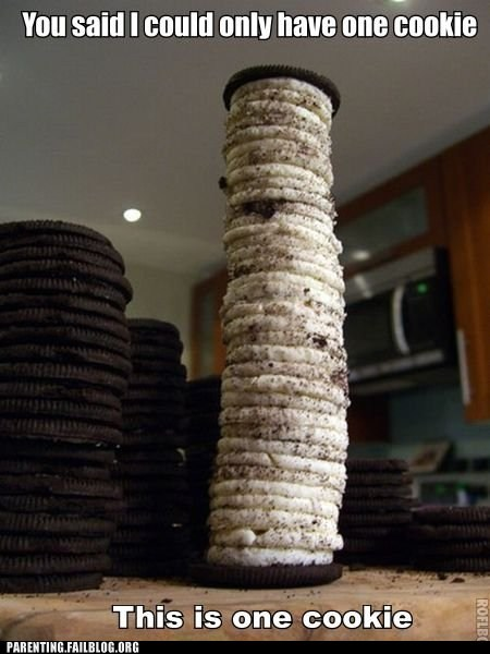 giant cookie loophole oreo rules