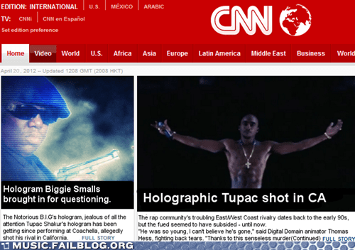 Biggie cnn holographic 2pac holographic tupac notorious-b-i-g Notorious BIG rap tupac - 6137944064
