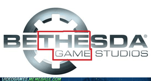 bethesda logo meme the game trolololol - 6137987584