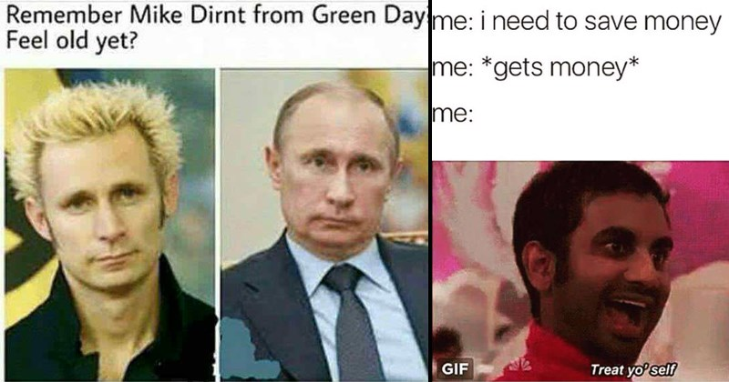 memes, funny memes, green day and putin