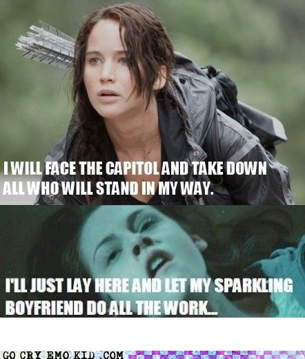 best of week,boyfriends,hunger games,movies,sparkling vampires,twilight,weird kid