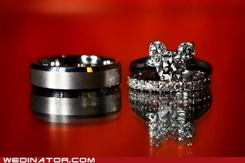 disney engagement rings funny wedding photos Hall of Fame rings wedding rings