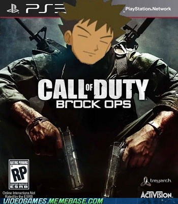 black ops,brock,call of duty,crossover,Pokémon,treyarch
