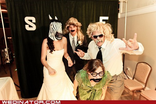 bride funny wedding photos weird zebra - 6138433536
