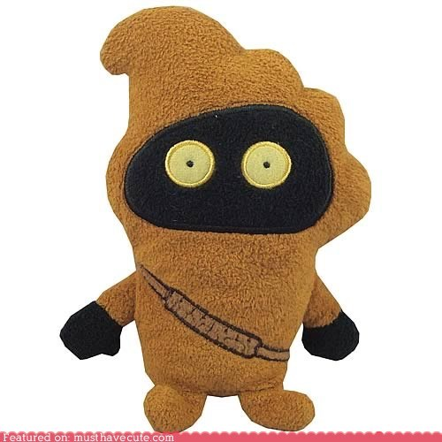 jawa Pillow Plush star wars toy - 6138433792