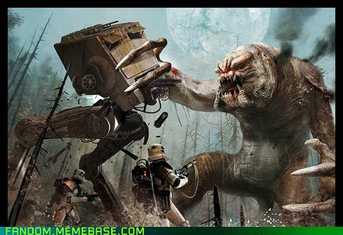 Fan Art movies rancor scifi star wars