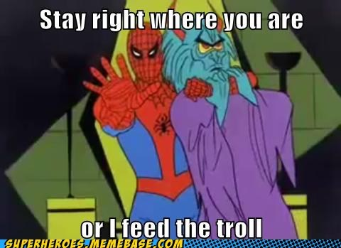 feed jerk Spider-Man Super-Lols troll uh oh - 6139570944