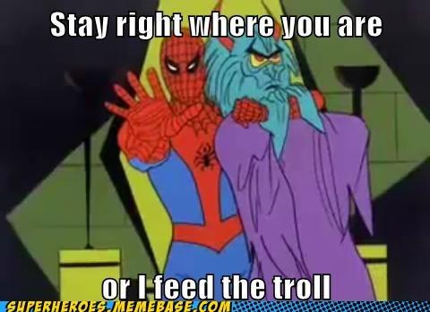jerk Spider-Man Super-Lols troll uh oh - 6139570944