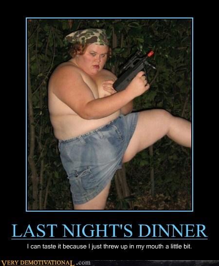 gun lady no shirt Terrifying wtf - 6139617024