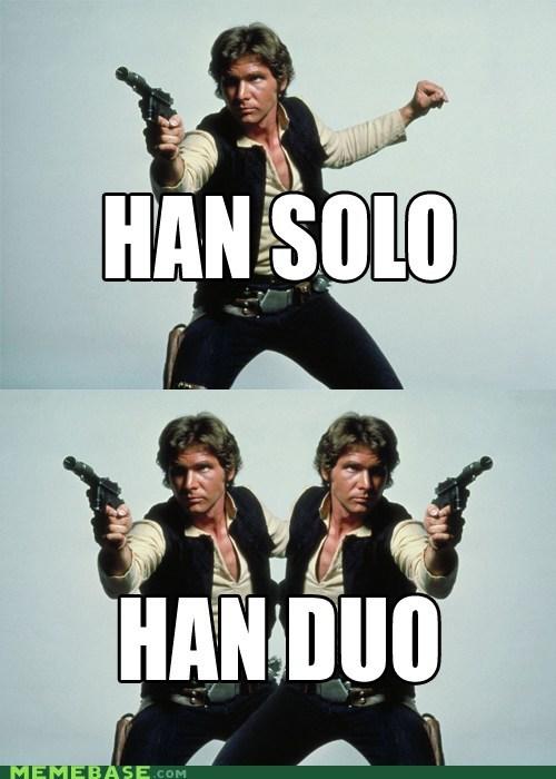 duo trio Han Solo - 6140038400