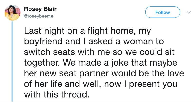 plane romance