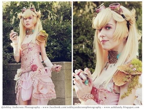 cosplay princess peach Steampunk Super Mario bros video games - 6140245248