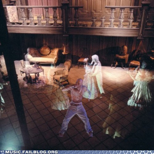 Tupac in the Haunted Mansion