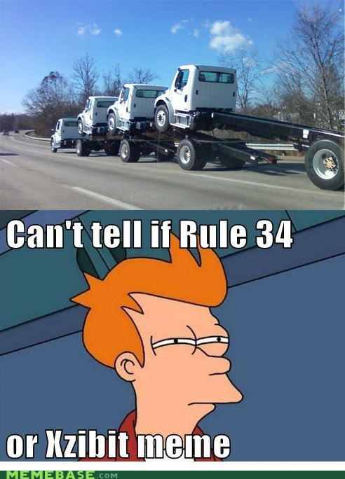fry,hookup,Rule 34,trucks,yo dawg