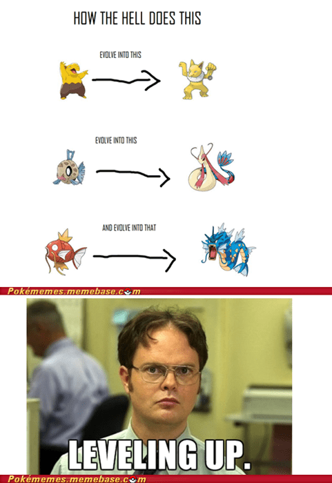dwight evolution Evolve meme Reframe - 6140487936