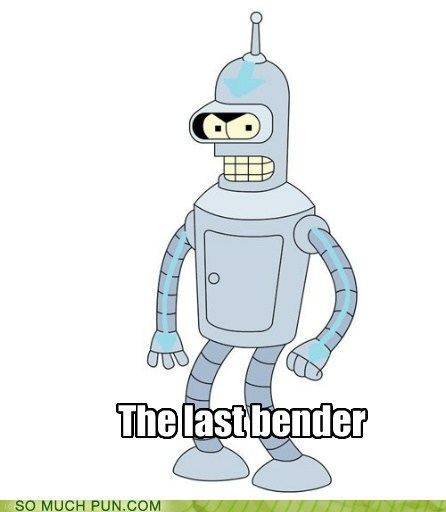 Avatar,bender,futurama,the last airbender