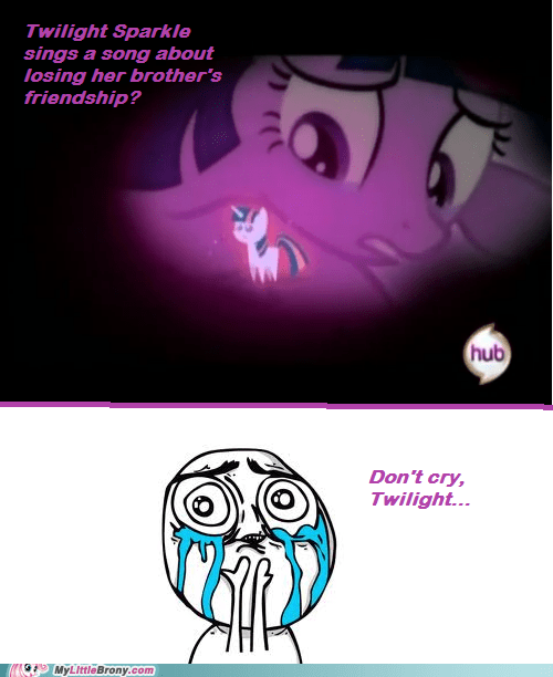 admit it brother cry forever alone Sad season 2 finale shining armor TV twilight sparkle - 6141347072