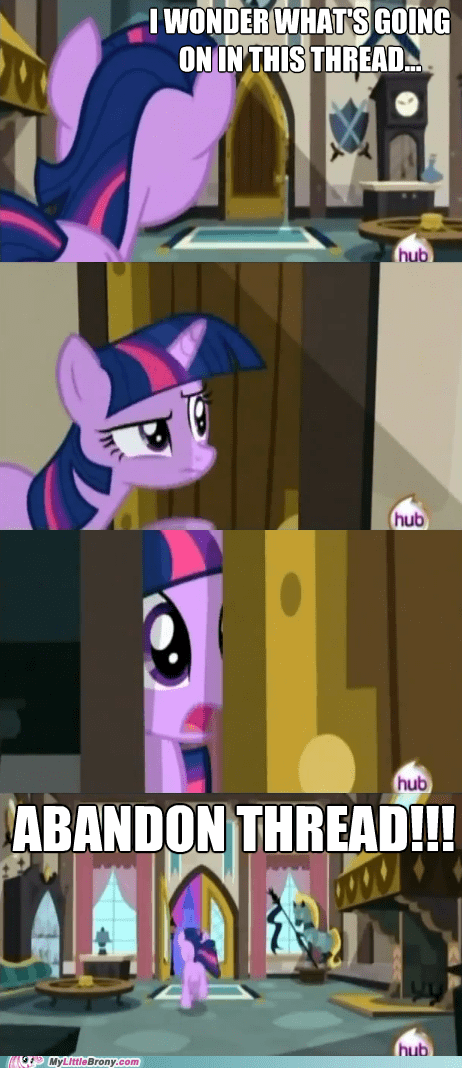 abandon thread cadance cannot unsee comics scary twilight sparkle - 6141398016