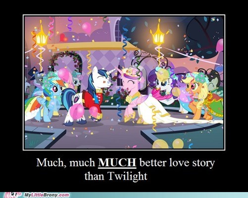 best of week better love story than twilight canterlot wedding meme season finale twilight wedding - 6141490176