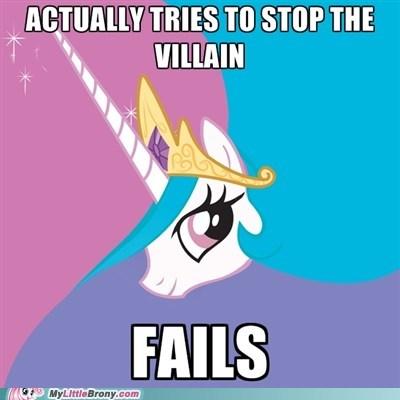 meme,princess celestia,season 2 finale,villain