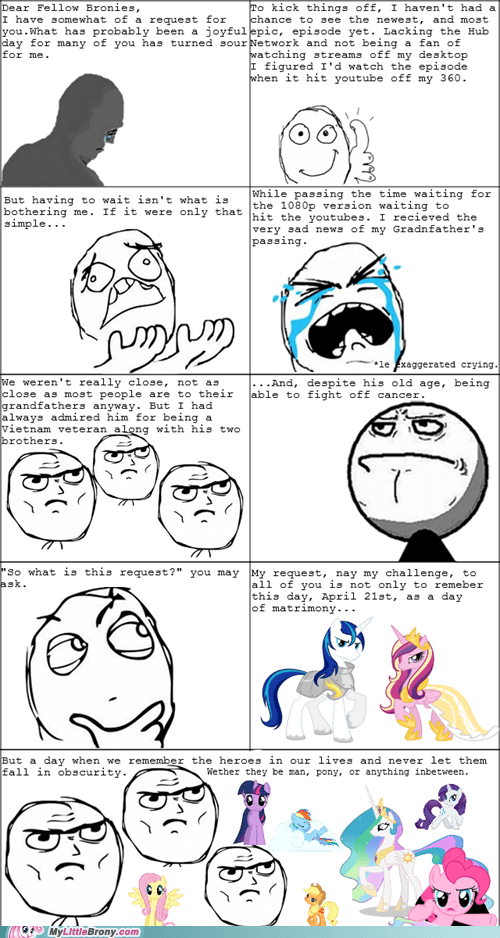 Bronies friendship IRL rage comic Rage Comics Sad - 6141875456