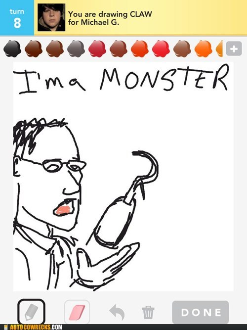 arrested development buster draw something im-a-monster - 6142021376