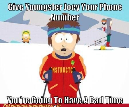 bad time Joey meme Memes super cool ski instructor - 6142048000