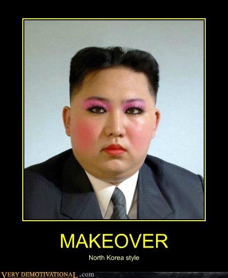 MAKEOVER North Korea style