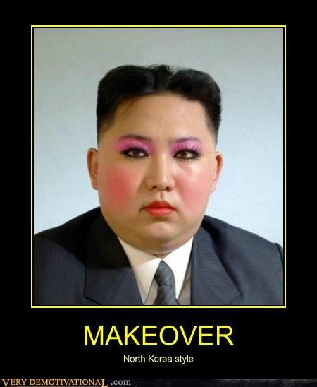 hilarious kim jong-un makeover sexy - 6142211840