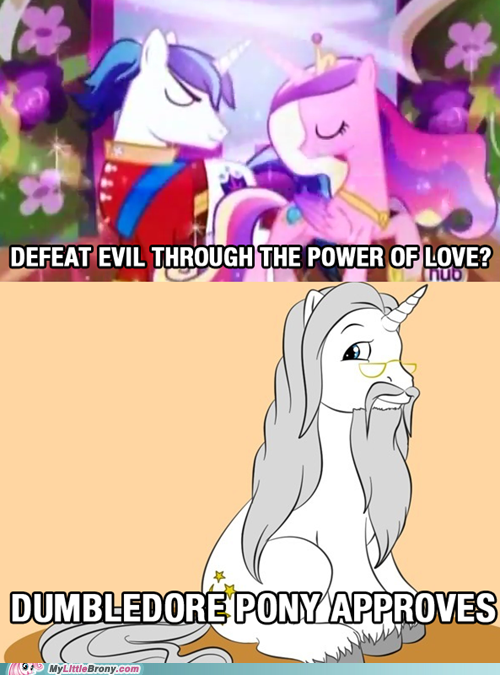 crossover dumbledore Harry Potter love my little pony ponify TV - 6142223616