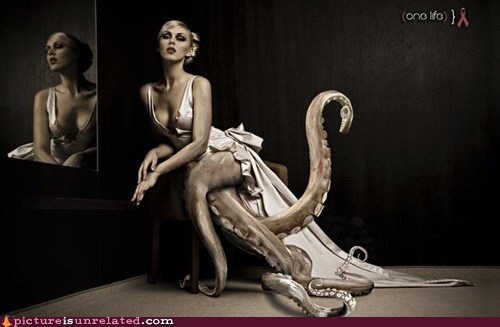 best of week,japanese entertainment,lady,model,octopus,wtf