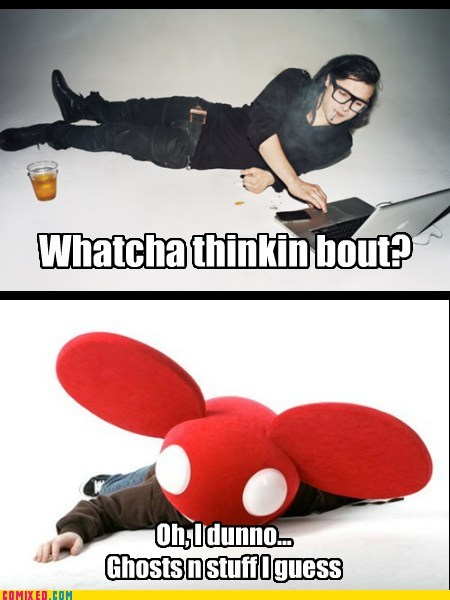 best of week Deadmau5 dubstep ghost n stuff skrillex weird kid whatcha thinkin about - 6142619392