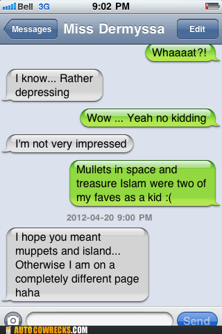 mullets in space,muppets,treasure islam,treasure island,typos