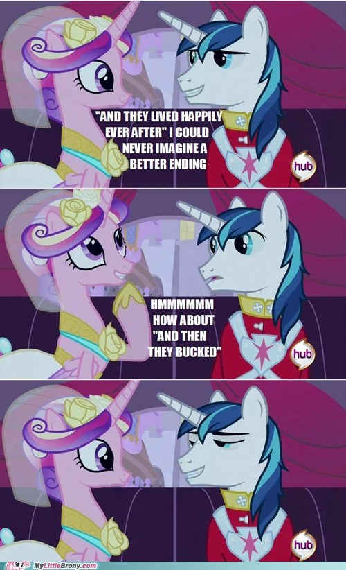 bucked cadance comics molestia shining armor - 6144053248