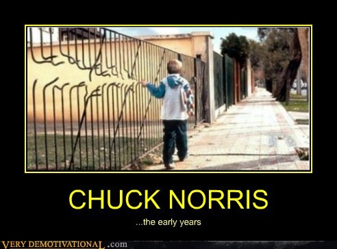 CHUCK NORRIS ...the early years