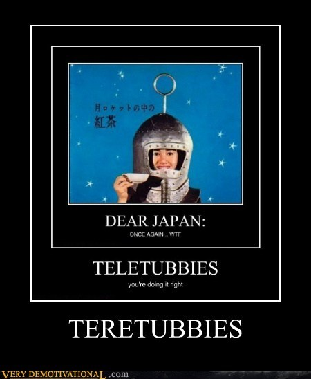 hilarious,Japan,racist,teletubbies,wtf