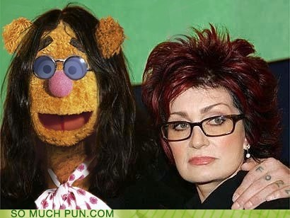 added letter fozzie fozzie bear Hall of Fame literalism Ozzy Osbourne similar sounding the muppets - 6145922048
