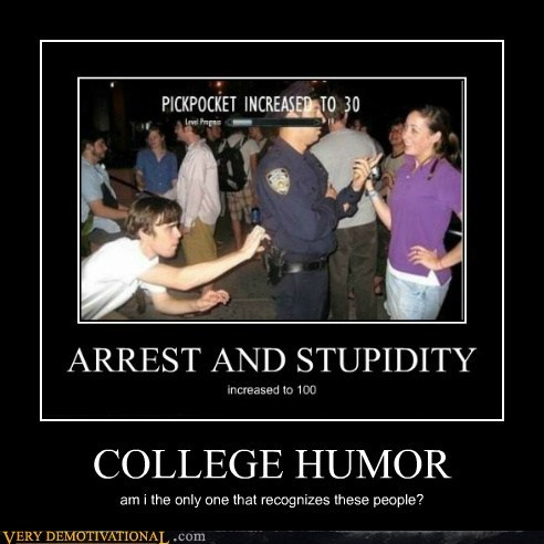 college humor,cop,hilarious,pickpocket