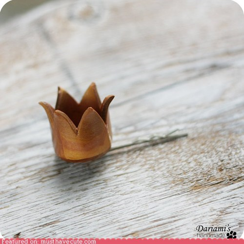 bobby pin,crown,hair pin,princess,tiny