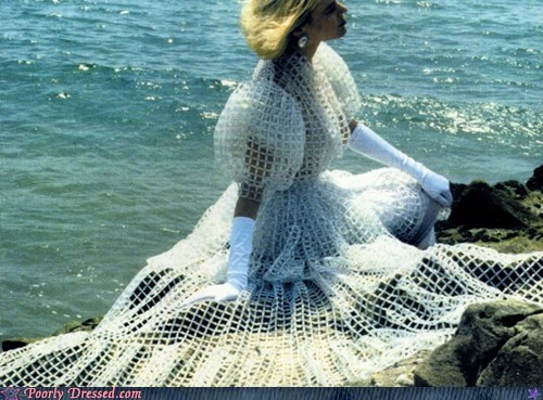 beach fishnets mermaid