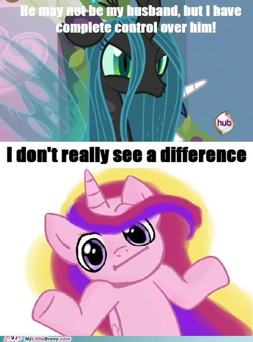 cadance chrysalis comics equestria i dunno lol marriage - 6146939904