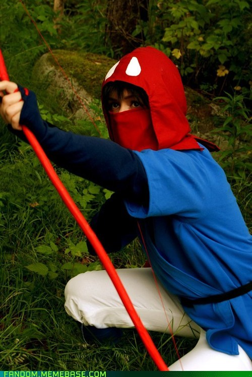 anime cosplay movies prince ashitaka princess mononoke - 6147850752